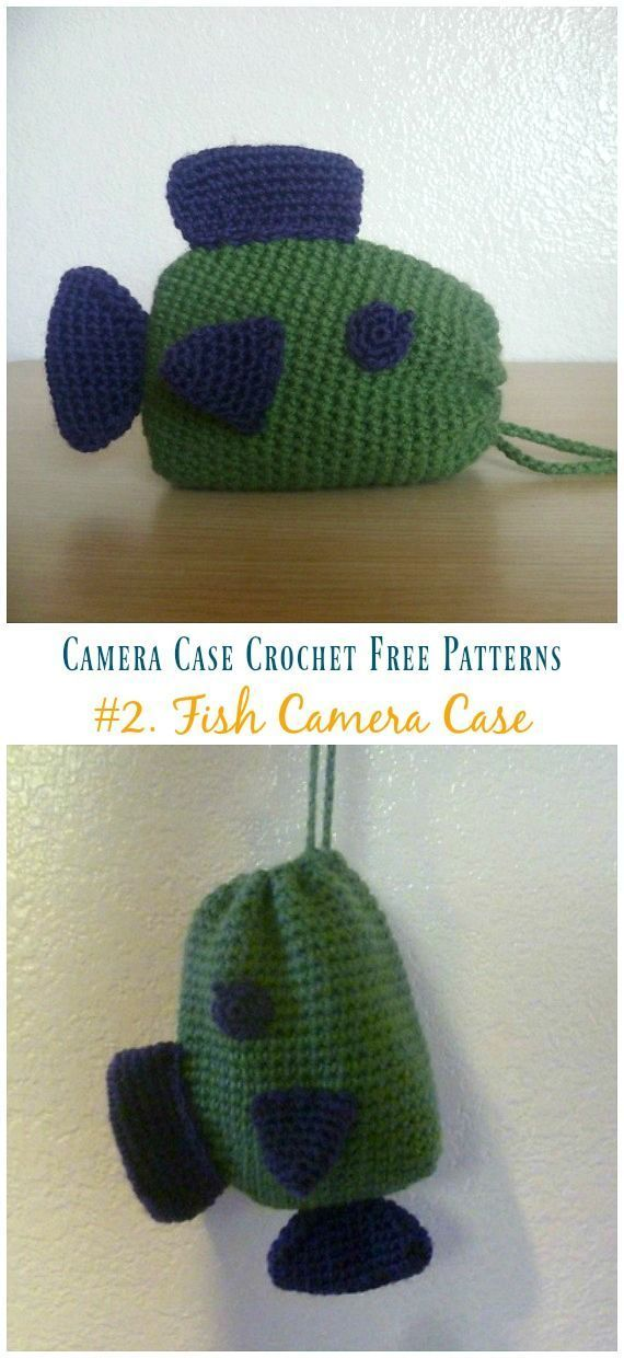 Cozy Camera Case Crochet Free Patterns #crochetcamera Fish Camera Case Crochet Free Pattern - Cozy #Camera; Case #Crochet; Free Patterns #crochetcamera Cozy Camera Case Crochet Free Patterns #crochetcamera Fish Camera Case Crochet Free Pattern - Cozy #Camera; Case #Crochet; Free Patterns #crochetcamera