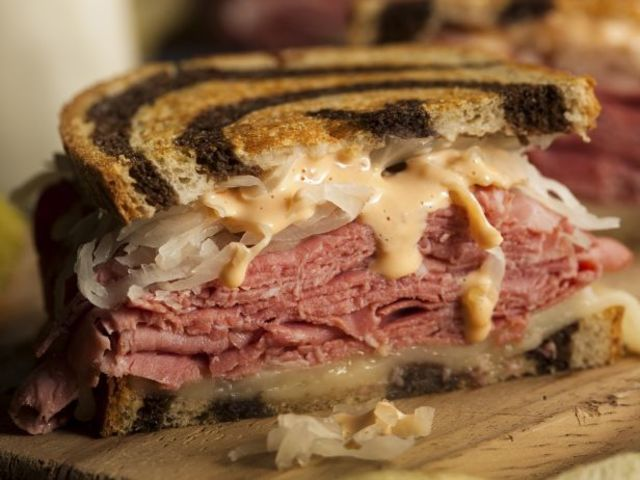 Which of the following is a main ingredient of A Reuben?