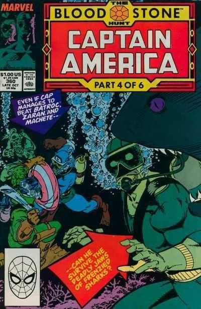 Captain America #360, 1989