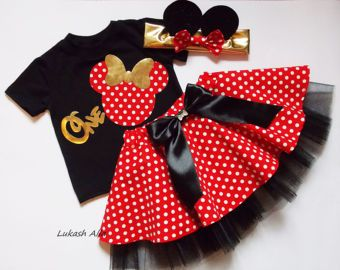 e5ac2e79d vestido rojo MINNIE MOUSE Minnie Mouse por SuperPrincessGifts
