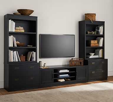 Reynolds Tv Stand Media Suite With Open Towers