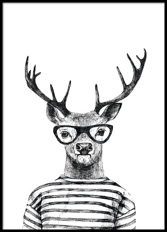 Print Perfect For Modern Interior Design Animal Canvas Art Animal Drawings Animal Canvas