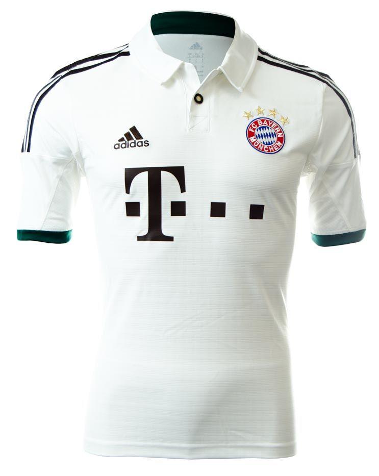 204d93335 2013 14 adidas Bayern Munich Away Jersey... 80.99