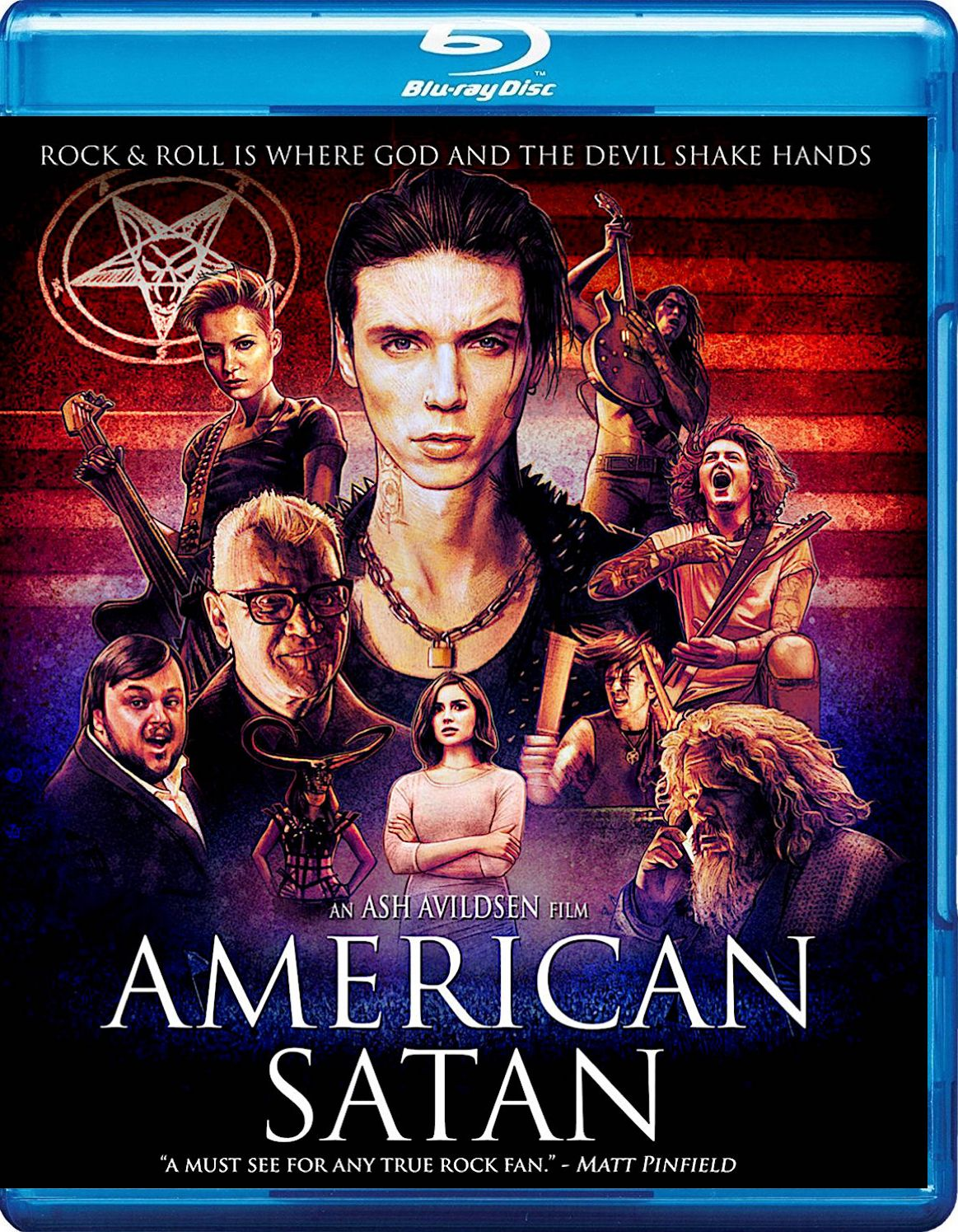 American Satan Blu Ray Sumerian Records With Images Full