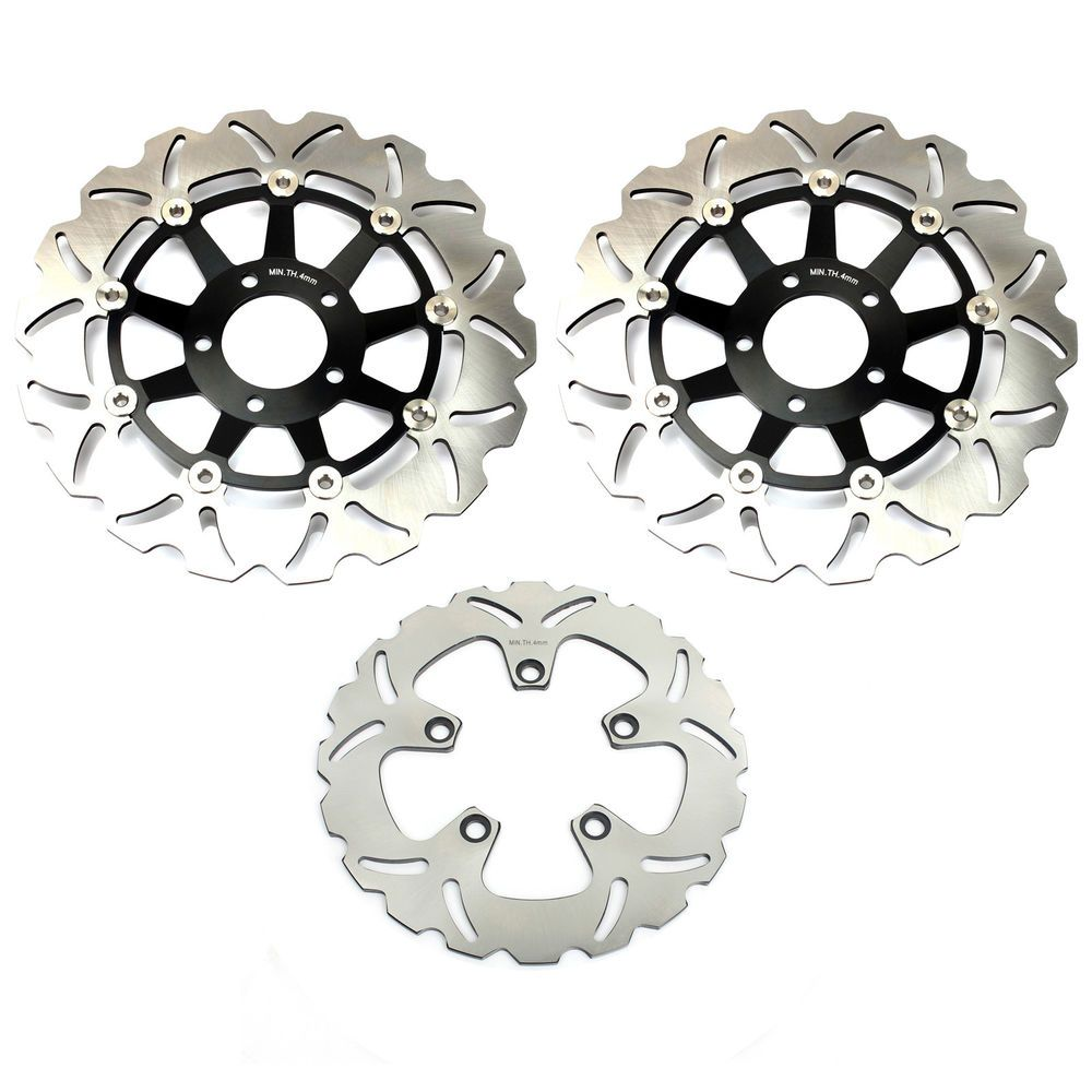 Suzuki Full Set Brake Discs Rotors For RF 900 94-99 GSF BANDIT 1200