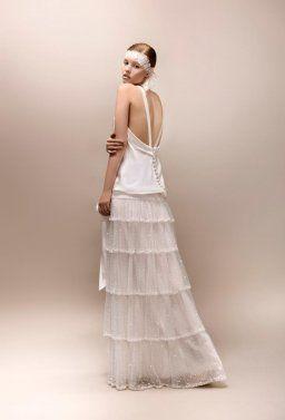 une robe de marie vintage une robe de marie rtro - Robe Charleston Mariage