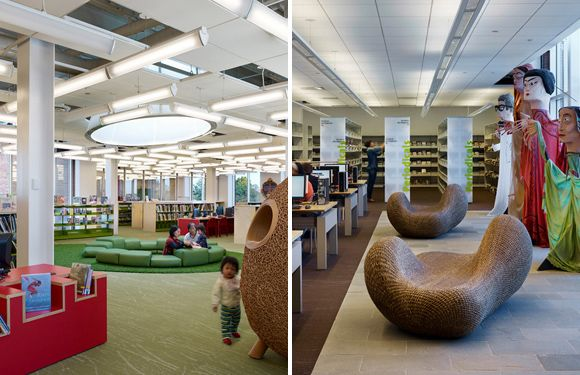 plainsboro library -- children's section | itds : corporate