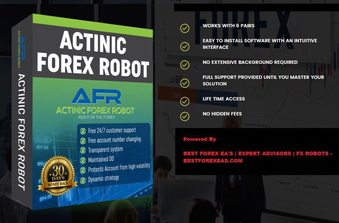 Actinic Forex Robot Review Best Expert Advisor For Long Term Fx