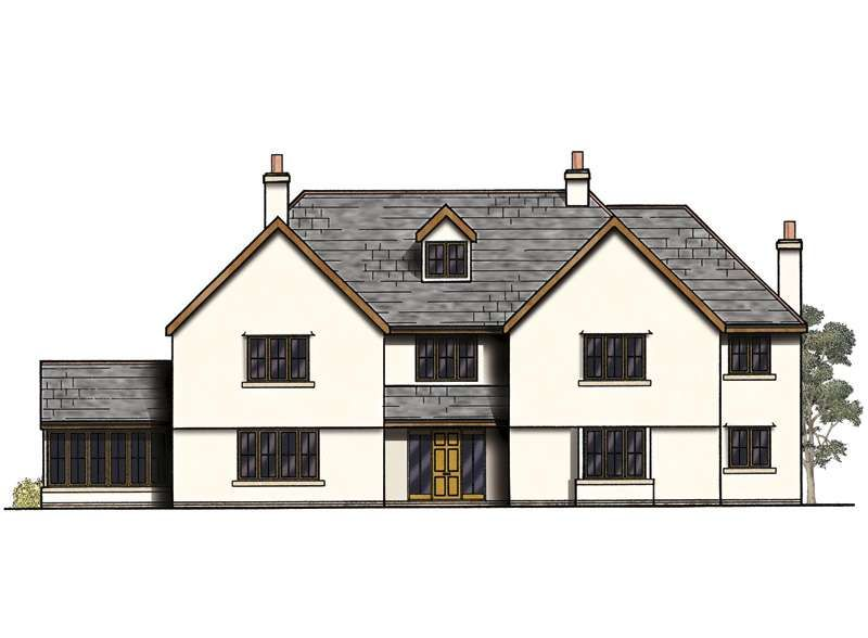 Elegant Absolutely Design Large 4 Bedroom House Plans Uk 2 Small