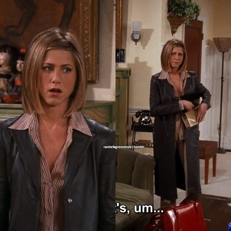 Rachel Green S Style Season 7 Episode 15 The One With Joey S New Rachel Friends Hair Rachel Hair Jennifer Aniston Hair