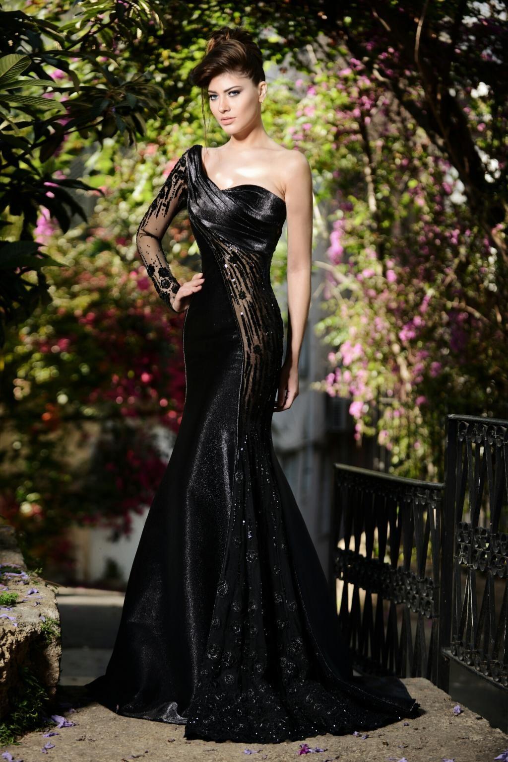 Rami Salamoun Haute - Couture | Long sleeve evening ...