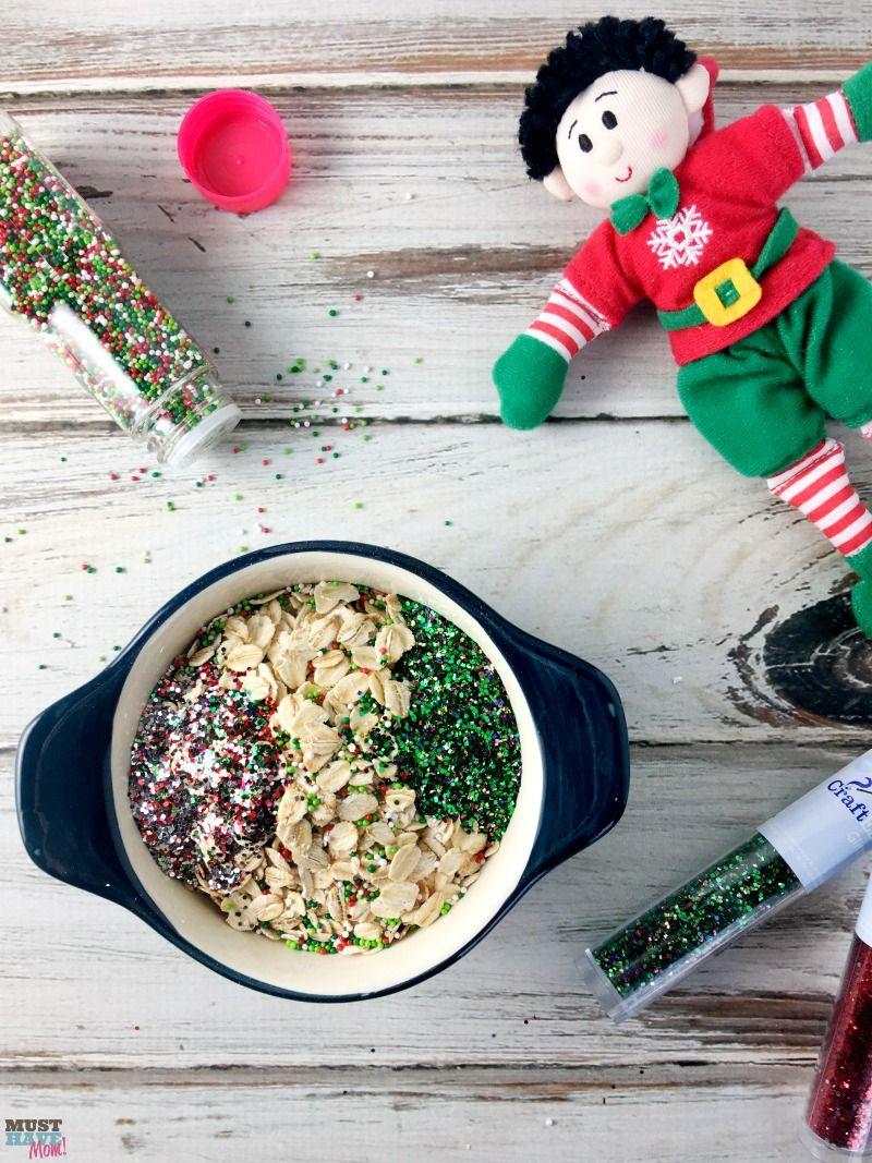 Santas magic reindeer food with free printable bag topper poem santas magic reindeer food recipe and free printable reindeer food poem bag topper make this forumfinder Choice Image