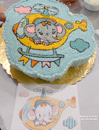 Student Final Cake Project Cake Decorating Courses Cake Decorating Classes Baking Cakes Decoration