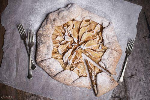 Knusprige Birnen Galette  - Rezept auf cookingCatrin -  ... Kochen / cooking / Kochrezept / recipe