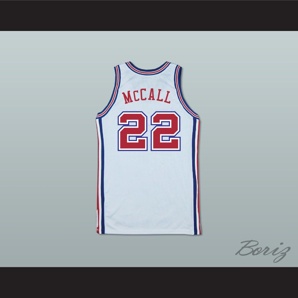 Quincy s Dad Zeke McCall 22 Pro Career Basketball Jersey Love and Basketball.  STITCH SEWN GRAPHICS CUSTOM BACK NAME CUSTOM BACK NUMBER ALL SIZES  AVAILABLE ... b5f0aa30f