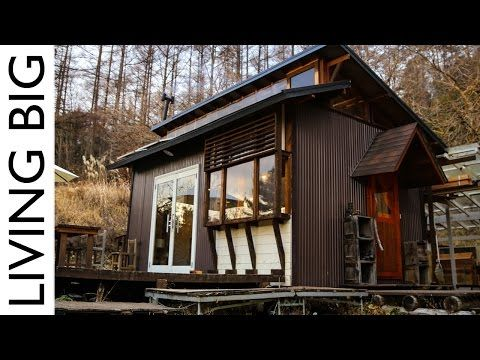 Majestic Off Grid Cabin In The Japanese Mountains Living