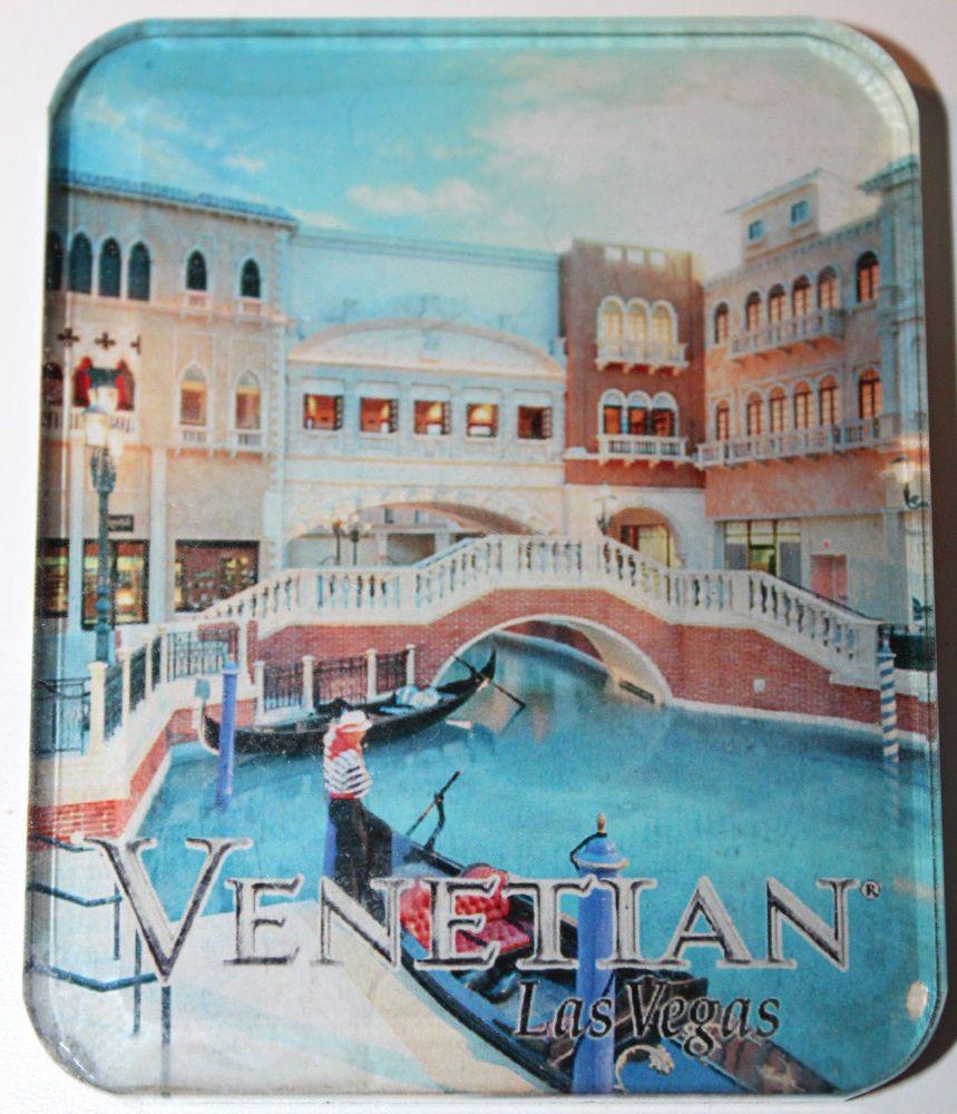 Venetian Las Vegas Casino Gondola Ride Kitchen Fridge Magnet ...