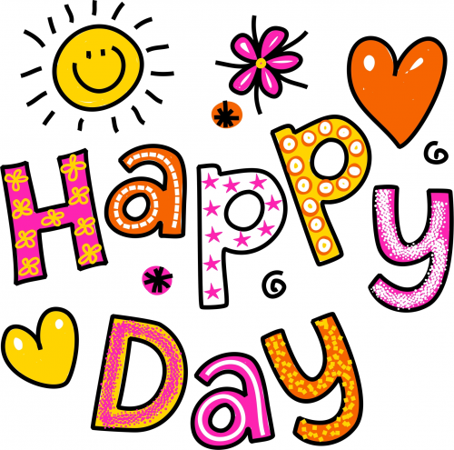 Happy Day Printable - KidsPressMagazine.com | Good morning greetings, Have a happy day, Happy students