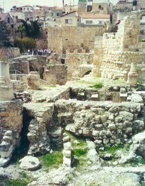 Pool Of Bethesda Holy Land Experience Holy Land Israel Bethesda