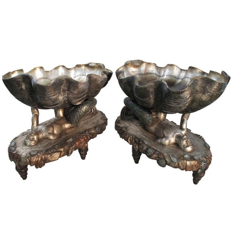 A Fabulous Pair Of Venetian Fantasy Grotto Jardinieres | From A Unique  Collection Of Antique And Modern Planters And Jardinieres At ...