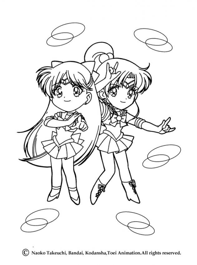 Little Sailor Venus And Jupiter From Hellokids Com Desenhos Para