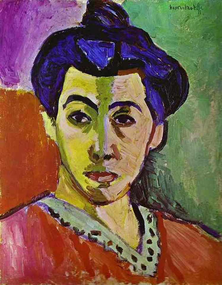 Resultado de imagem para Madame Matisse Matisse