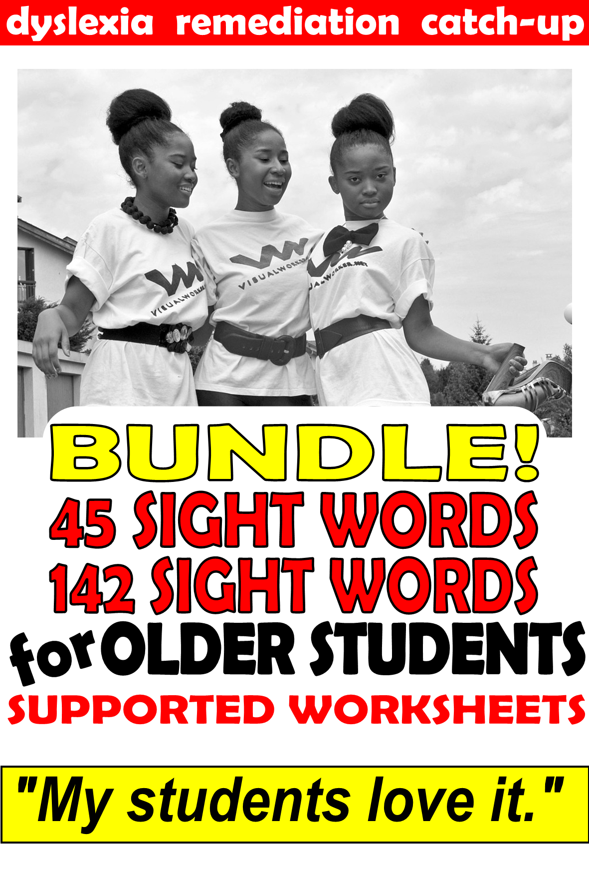 Middle School Reading Intervention Dyslexia Worksheets
