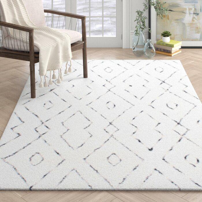Mercury Row Peraza Hand Tufted White Area Rug Reviews Wayfair White Area Rug Living Room White Rug Living Room Living Room Area Rugs