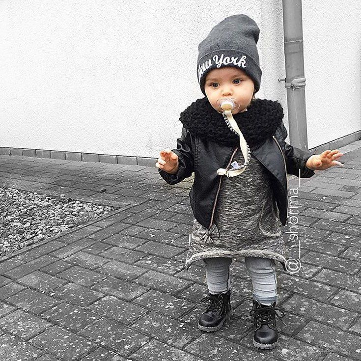 Photo of Baby cool Rocking ihr Outfit @__shorma__ KIDZOOTD WEBSITE – LINK