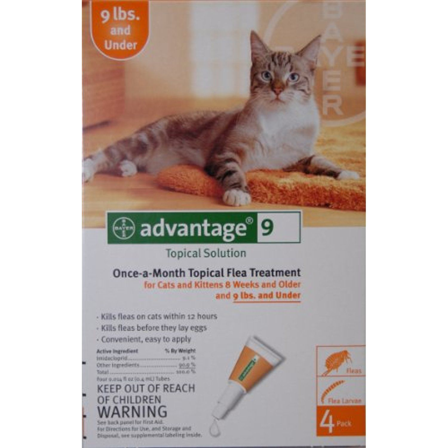 Advantage Cat Orange Under 9 Lbs By Advantage Be Sure To Check Out This Awesome Product This Is An Affiliate Li Cats And Kittens Cats Cat Medication
