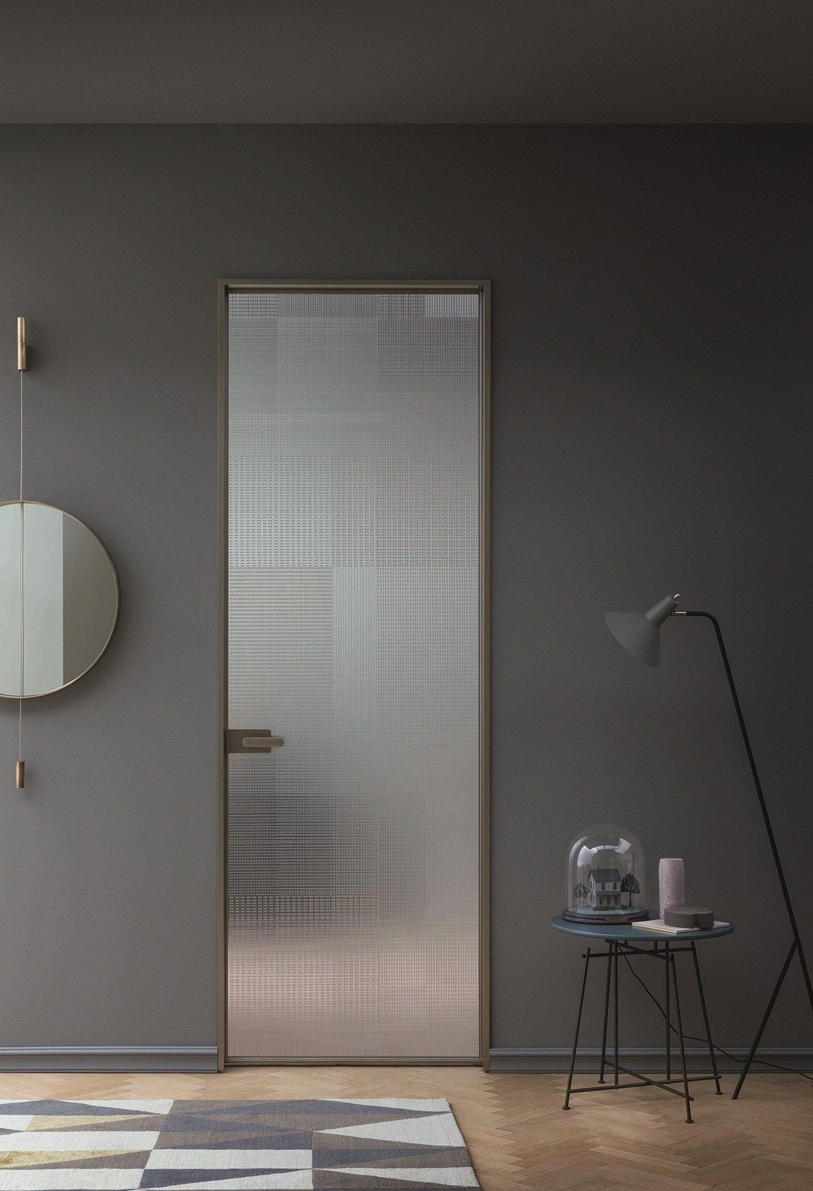 New Lualdi Collections Presented At MDW Simple Elegance For Doors, Paneling  And Furniture Systems