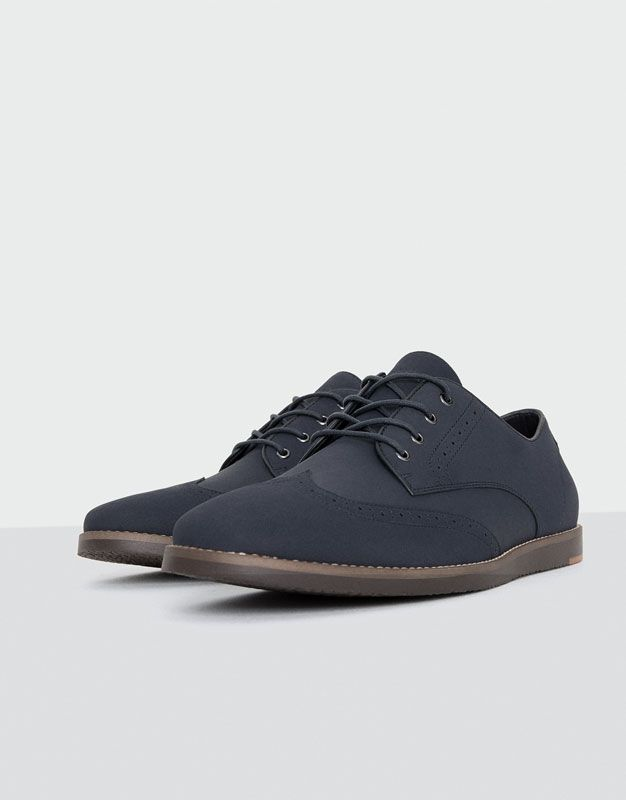 Zapatos azul marino casual zYiek