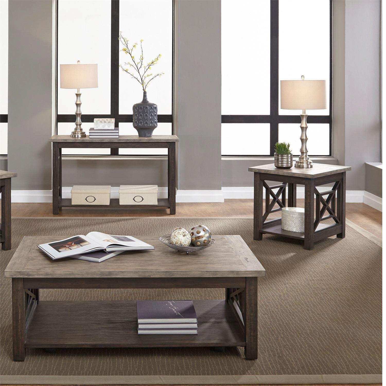 Transitional Gray Wood Coffee Table Set 3 Pcs 422 Ot 3pcs Liberty Furniture 422 Ot 3pcs Liberty Furniture Grey Wood Coffee Table Coffee Table Wood [ 1500 x 1500 Pixel ]