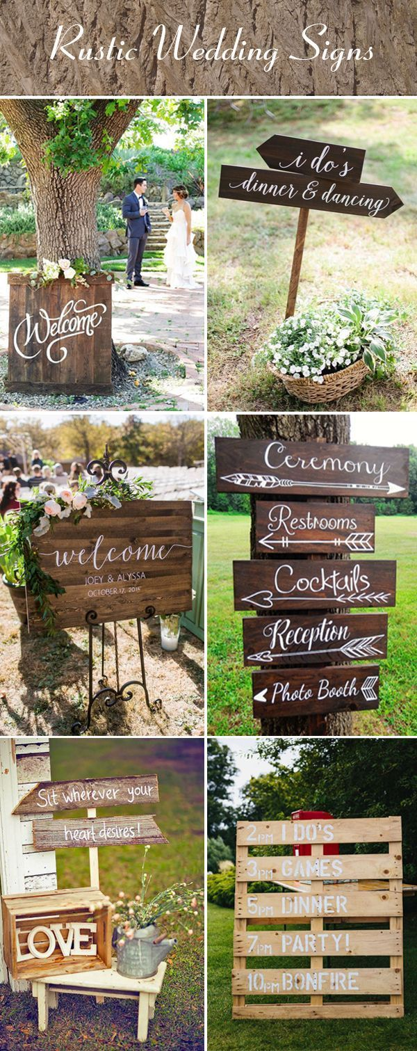 Wedding decorations unique october 2018  Creative Rustic Wedding Ideas for Your Big Day in   wedding