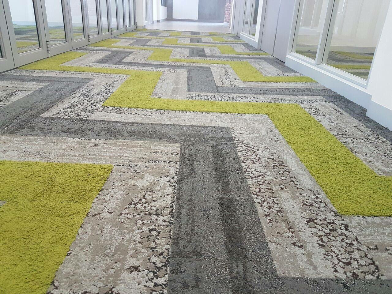 Interface Human Nature Interface Modular Carpets