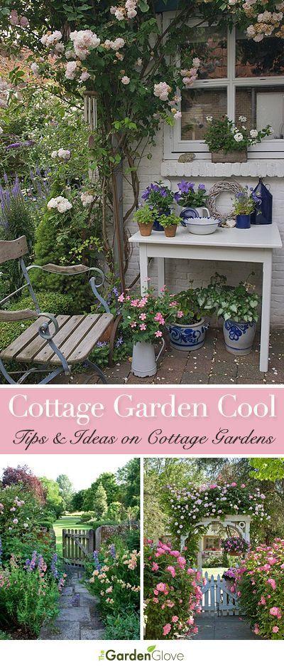 Cottage Garden Cool Gardens, Herbs and Flowers - cottage garten deko