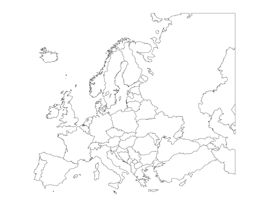 map of european countries  OCC Shoebox  Pinterest  European
