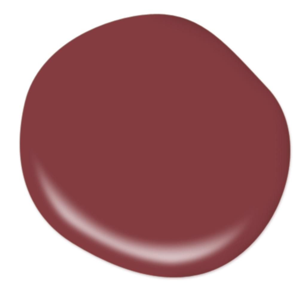 Behr Premium Plus 1 Gal M140 7 Dark Crimson Satin Enamel Low Odor Interior Paint And Primer In One 730001 The Home Depot Behr Marquee Paint Exterior Paint Behr Marquee