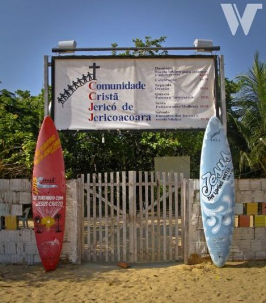 For some people, surfing is, strictly speaking, a religion | Jericoacoara Brazil | #surfing #religion