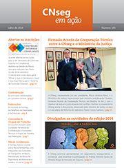 Periódico CNseg em ação   Edição 100   Julho de 2014