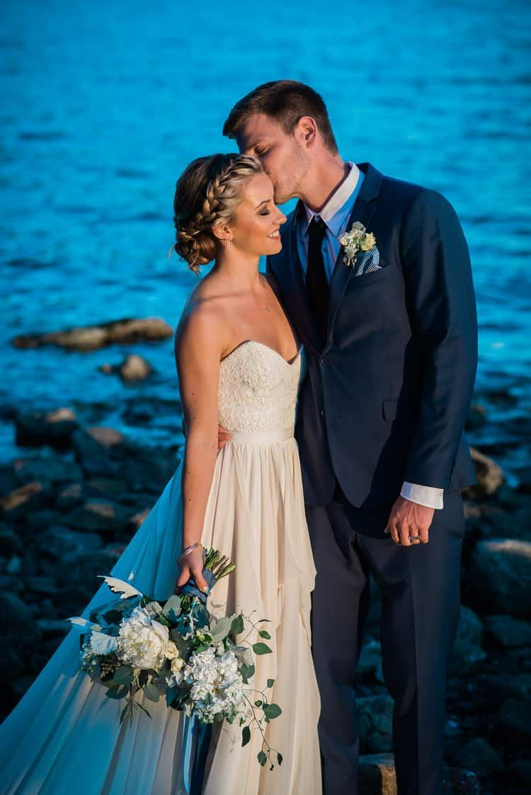 Sunset and Twilight Beach Wedding Inspiration   Beach ...