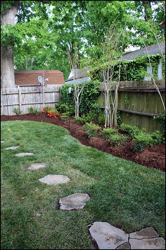Landscaping for shady back yards houston backyard for Garden design houston