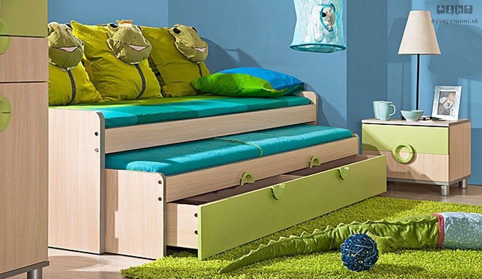výsuvná posteľ s úložným priestorom NEMO N11