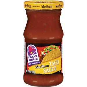 Taco Bell Home Originals: Medium Taco Sauce Components, 8 Oz