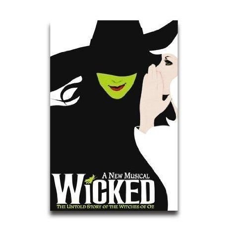 Wicked Broadway Musical Custom Decoractive Home Decor Wall Paper Print  Poster Wall Sticker 20 X 30