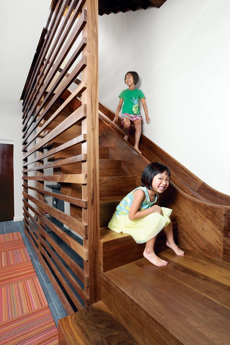 Lakeview By Diana Budds With Images Stair Slide Stairs Design