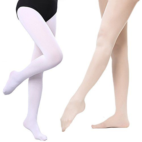 be458a8808683 Socks & Tights 2 Pairs Girls Ultra Soft Pro Dance Tights Ballet Footed  Daily Student Tights