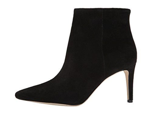 669f839e4ac26f Cicime Womens Mrlbra Black Suede High Heel Sizezip Pointed Toe Ankle Booties  13 M US     Want additional info  Click on the image.