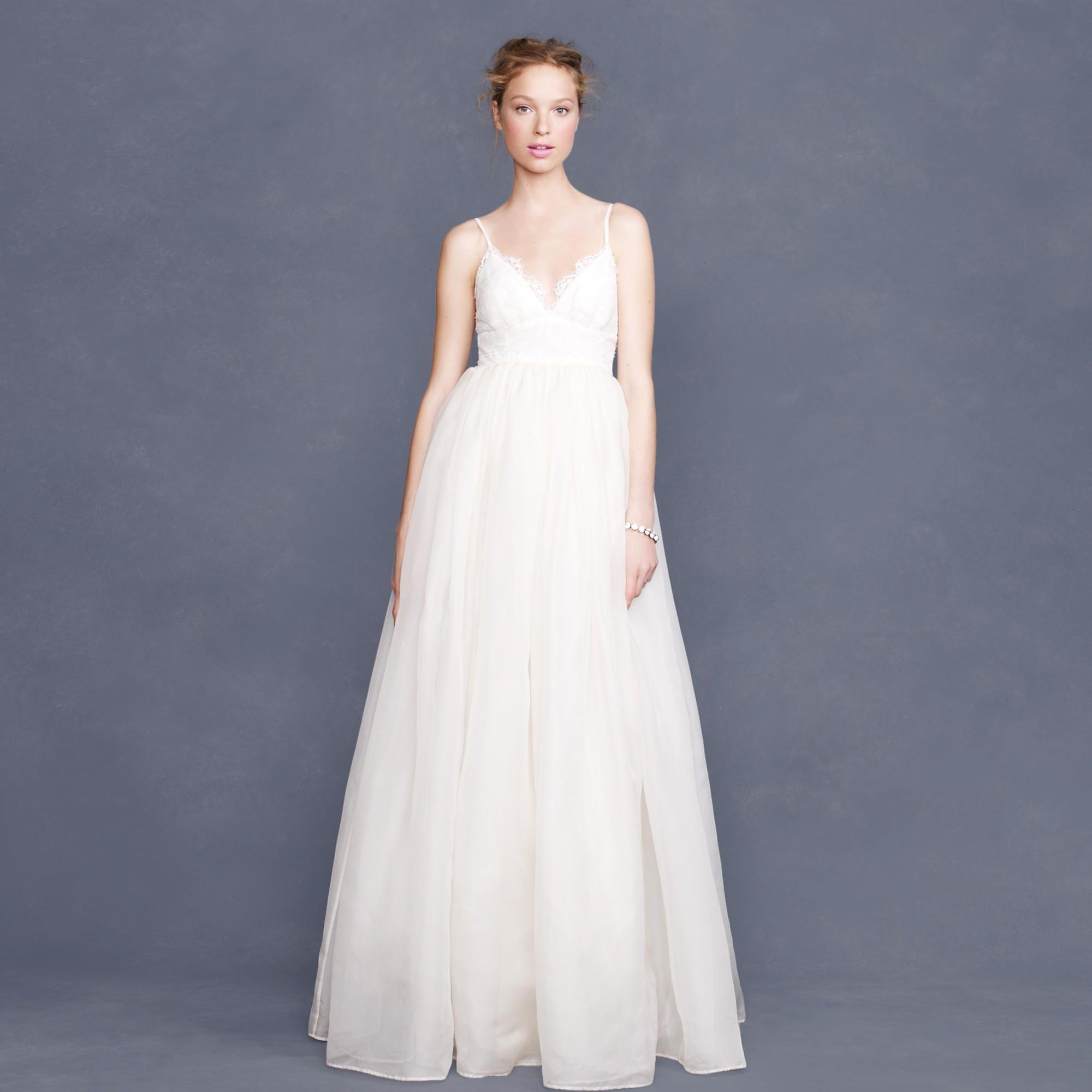 Ivory Cotton/Nylon Bodice and Silk Organza Skirt Principessa ...