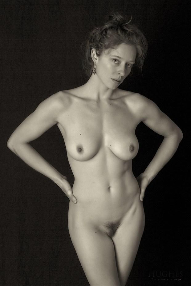 Bianca with Hands on Hips   by Bill Hughes (P)